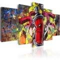 Obraz - Angry spray can 1