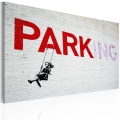 Obraz - Parking (Banksy) 1