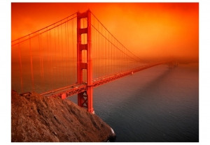 Fototapeta - Most Golden Gate