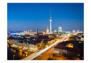 Fototapeta - Berlin by night